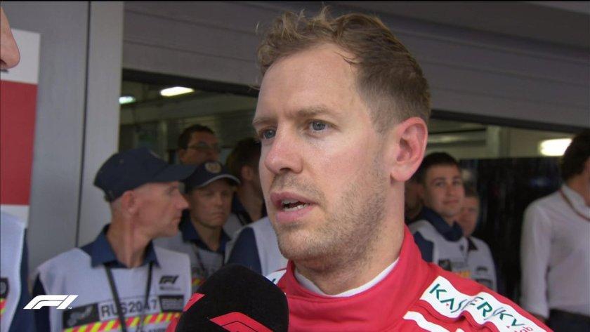 GP Russia Vettel