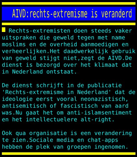 rechtsextremist