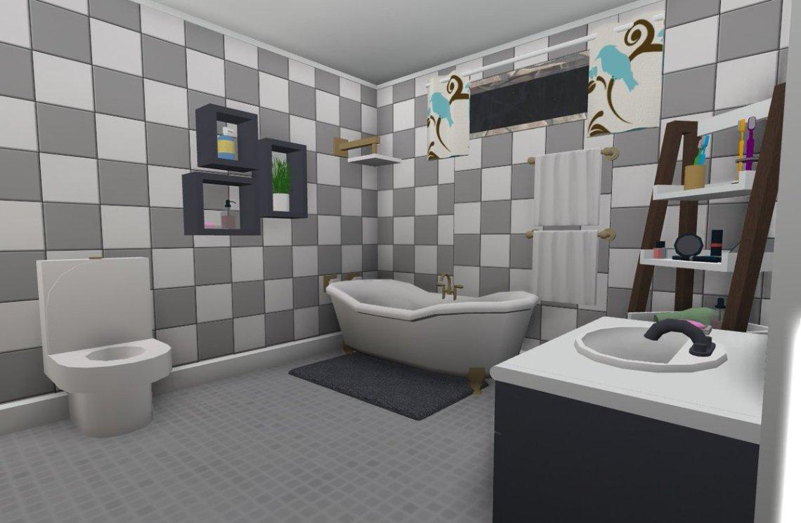 Bathroom Bloxburg Small