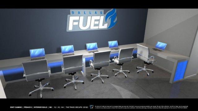 Dallas Fuel antrenman merkezi