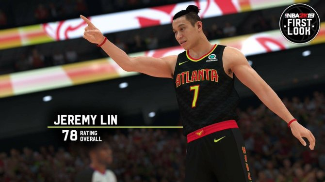 RT @manu77728 New season, new team, new #NBA2K19 for Jeremy Lin. The wait is over. #NeverDone.