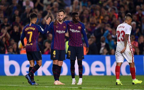 برشلونة يخطف ريادة ترتيب الليغا بعد الفوز على إشبيلية 25