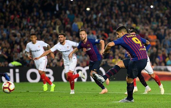 برشلونة يخطف ريادة ترتيب الليغا بعد الفوز على إشبيلية 27