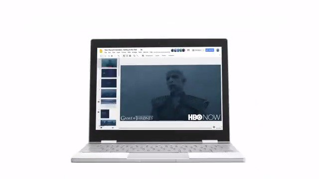 Image for the Tweet beginning: Winter is coming for Chromebook...