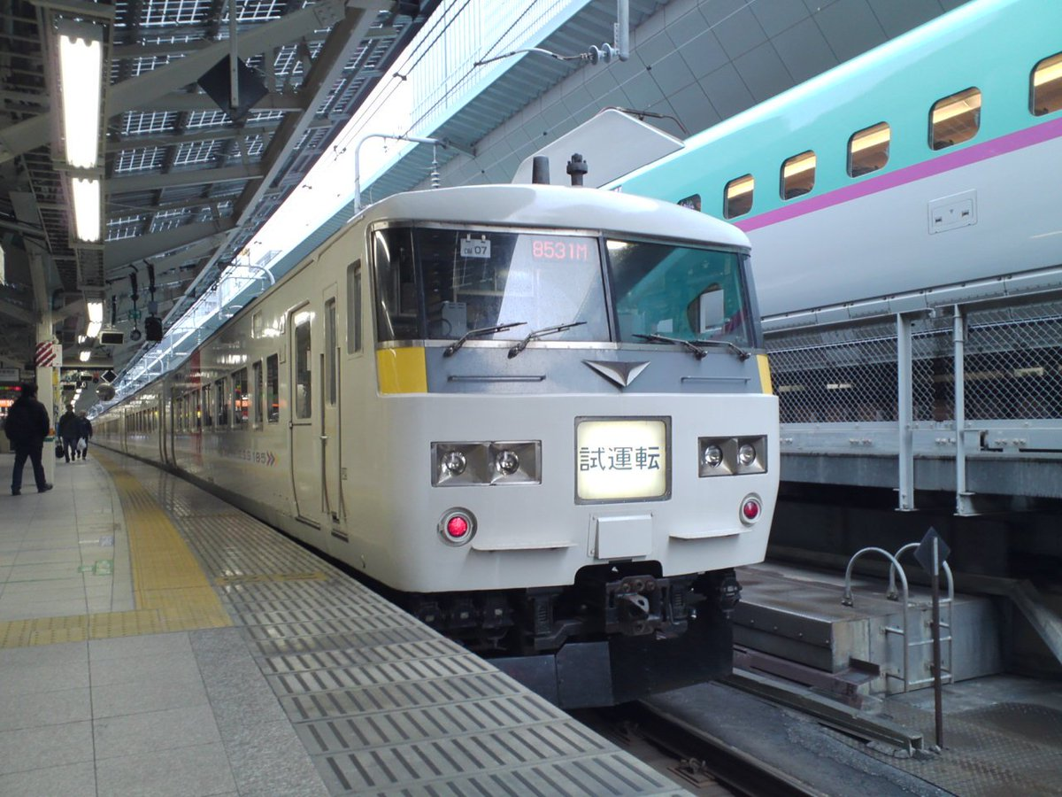 test ツイッターメディア - 【🚃20181020】引退が近い185系ですが、今回の冬臨発表をみるとまだまだ使われていますね。昨シーズンまで黒船電車を使用していた伊豆初日の出号や、成田臨は伊東、横須賀、宇都宮発着の列車、湘南国際マラソン号など。もちろん全体的にE257系臨時列車が年々増えてきた感じは否めないですが。 https://t.co/ySZqNhCBjr