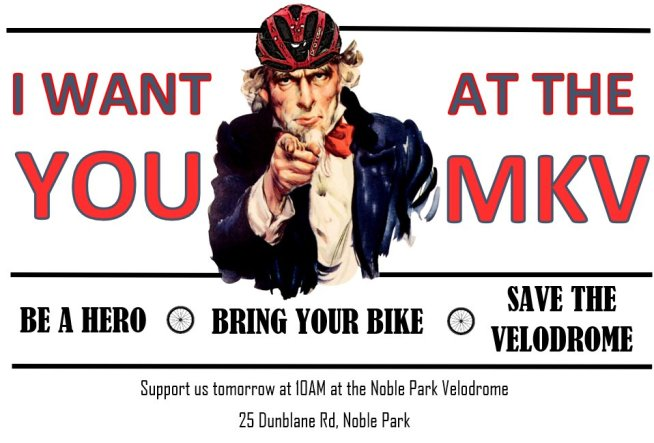 test Twitter Media - Be a Hero. Bring Your Bike. Save The Velodrome: 10am, Wed 10th October 2018, 25a Dunblane Road, #NoblePark #Melbourne #cycling https://t.co/IZKpgqptxb