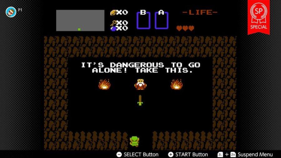 The Legend of Zelda SP review