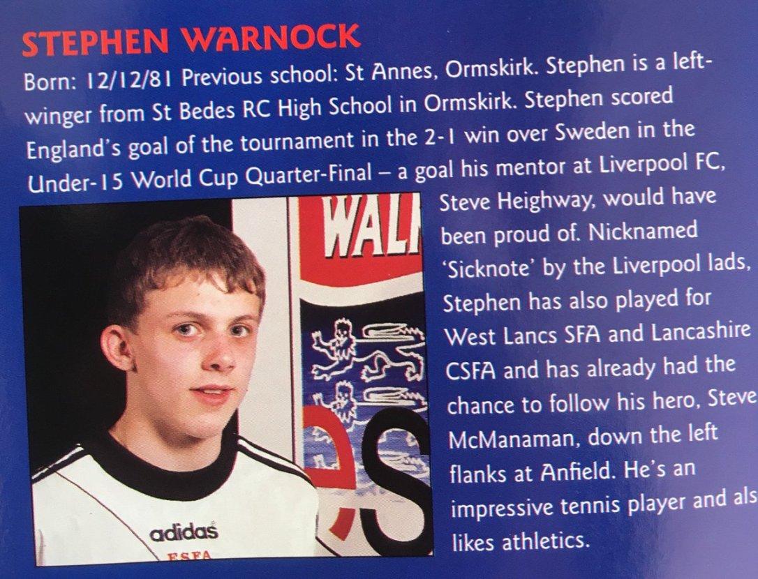 Image result for stephen warnock esfa