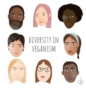 DIVERSITY IN VEGANISM ART LIVEKINDLY - VEGANS OF COLOR TO FOLLOW SOYVIRGO.COM