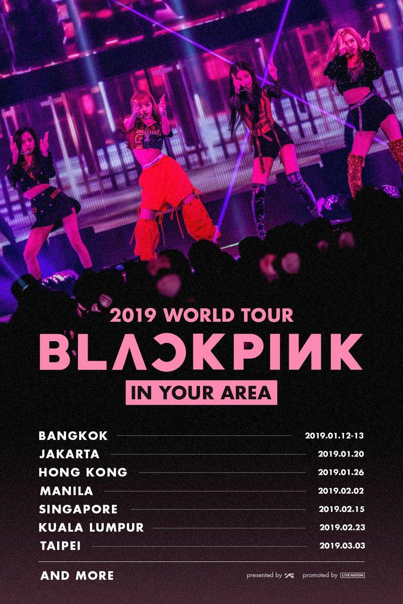Image result for blackpink world tour site:twitter.com