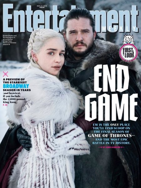 Eerste kijk op Jon Snow & Daenerys Targaryen in Game of Thrones S8