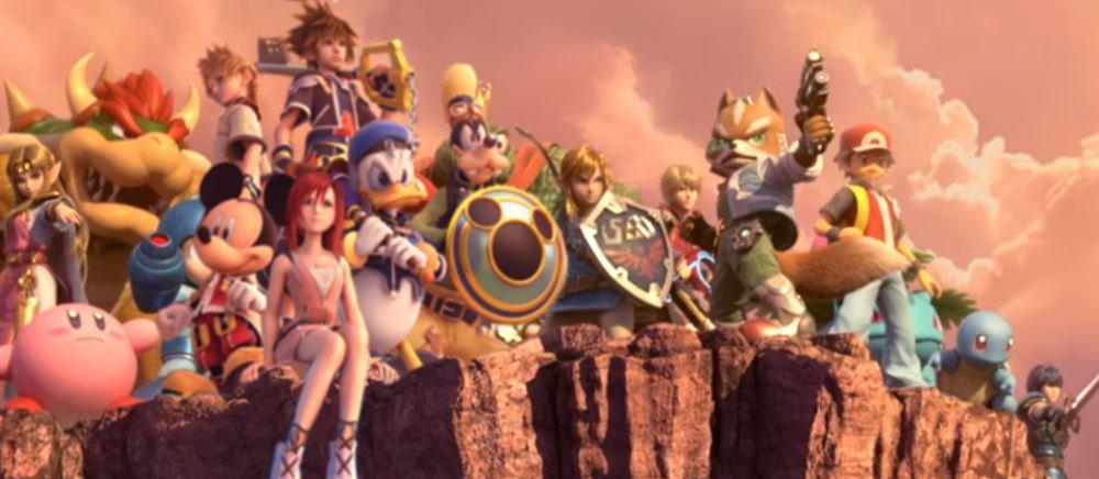 Media Kingdom Hearts X Super Smash Bros Ultimate World