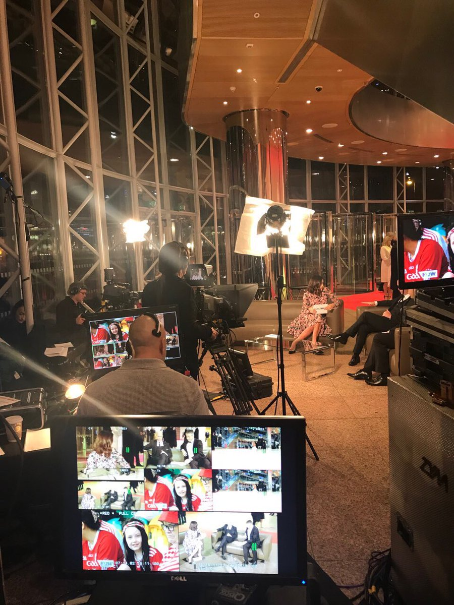 test Twitter Media - GAANOW was Live from the Convention Centre in Dublin covering the red carpet at 2018 PwC All-Stars - we had our PPU there for the live stream. #PwCAllStars @PwCIreland @officialgaa https://t.co/XW49CPL3bM