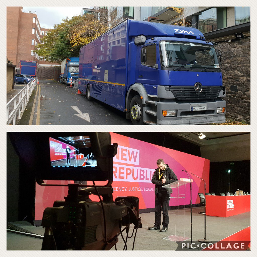 test Twitter Media - Providing facilities for RTE today at the Labour Party conference in Ballsbridge. https://t.co/RWpgBYe717