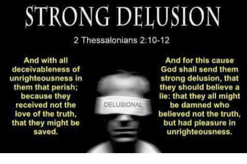 Image result for II THESSALONIANS 2:10-12