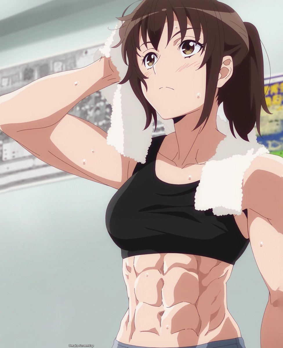Involving the online proliferation of anime girls wearing make. Which Girl Has The Best Abs Anime