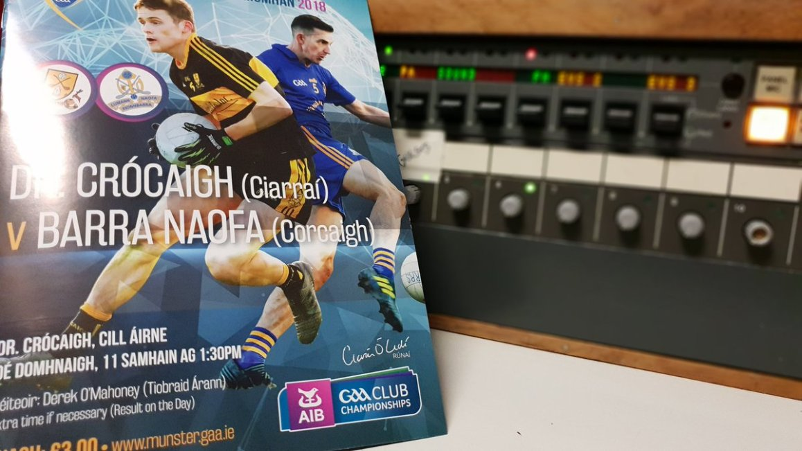 test Twitter Media - Live from a very wet  Killarney for @GAA_BEO. It's Dr Crokes v St Finbar's. Watch live now. Throw in 13.30. @SportTG4 @nemetontv https://t.co/wBlR3qvnPS