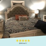 Bob S Discount Furniture On Twitter This Bedroom Set Looks Beautiful Is Solid And Has Plentyyy Of Storage Options We Love Our Bedroom Set Thank You Michael Z For The Review On The