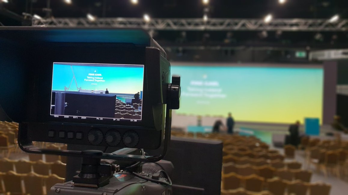 test Twitter Media - We are in Citywest Convention Centre with RTE providing facilities for their live coverage of the Fine Gael Ard Dheis. https://t.co/Zbf2E2SxxV