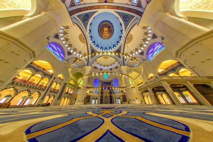 Image result for camlica mosque interior