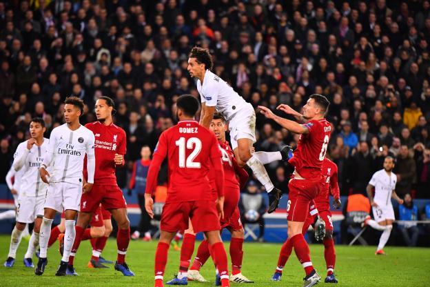 باريس سان جيرمان يسقط ضيفه ليفربول بفوز ثمين 26