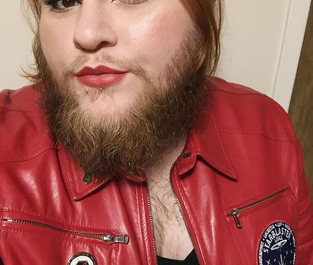 Its Jacket Weather Again Babes  F F   Pcos Beardedlady Beardedwoman Beardsofinstagram