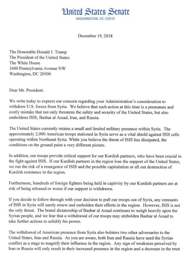 """Lindsey Graham on Twitter: """"Letter from @SenatorShaheen"""