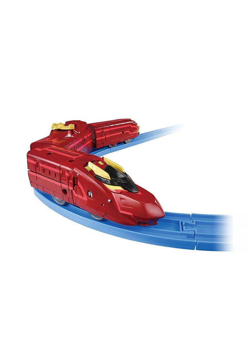test ツイッターメディア - DXS13 ブラックシンンカリオン紅 購入はhttps://t.co/Lxgfjy9wnW   プラレールで登場!3両編成仕様で、新幹線からロボットに変形するぞ!チェンジ!シンカリオン!  #シンカリオン #電車 https://t.co/d2VlONpRxj
