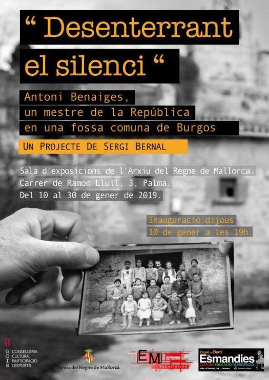 test Twitter Media - #Exposición Mallorca.   Donde se hablará de como aquel 2010 a raíz de un testigo pasó de una fosa de muerte por sus ideas a un campo de vida. https://t.co/OsxySAeBjK