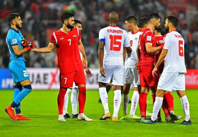 كأس آسيا 2019 : فلسطين تفرض التعادل السلبي على سوريا 25