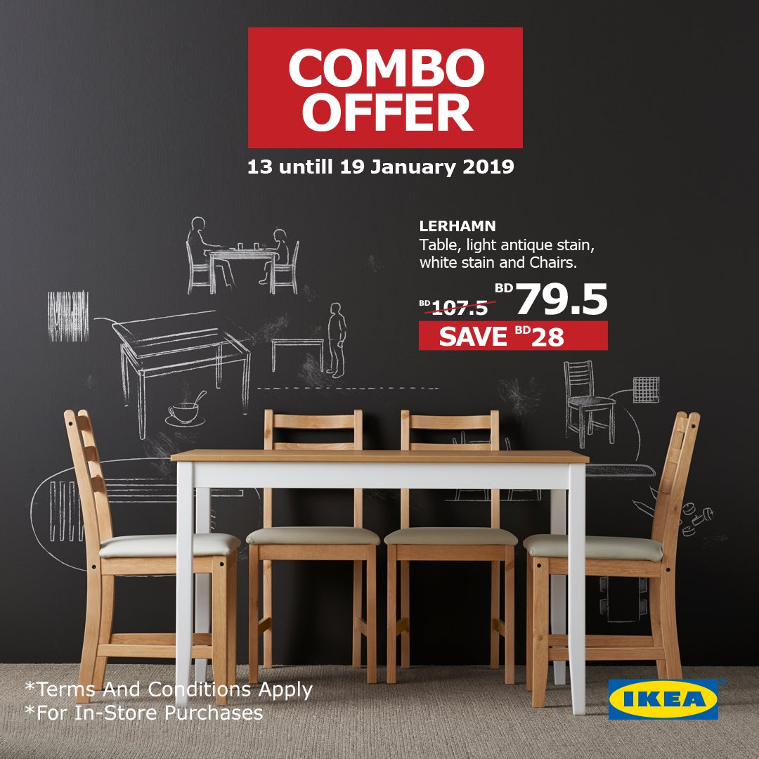 Dont Miss Out On The Ikea Combo Offer From The 13th Till