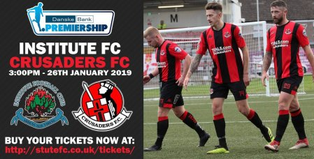 crusaders fc on twitter match day danskebankprem institute_fc crusadersfc officialnifl wear with pride let s hear you nevergiveup wearecrusaders https t co mvayudli6f