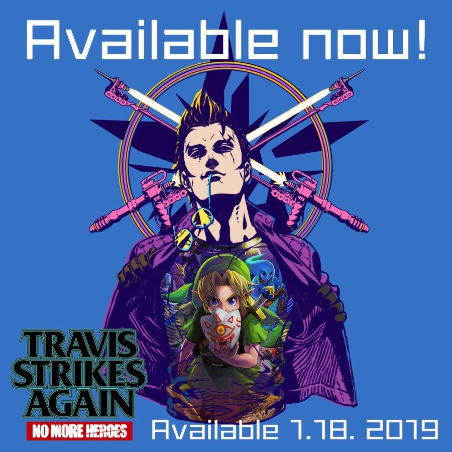 Travis majora's mask t-shirt guide Travis zelda t-shirt guide