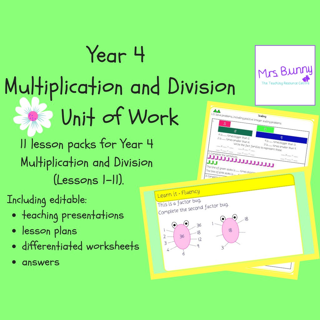 Multiplication And Division Worksheets Tes