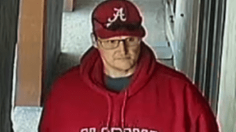 Alabama Cops Are Hunting For This Bammer