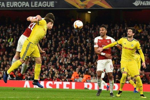 Arsenal vs BATE Borisov Video Highlights & Goals
