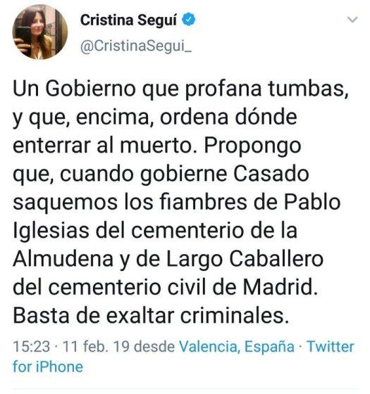 test Twitter Media - Cuando no entiendes la diferencia entre un mausoleo construido por mano de obra forzada, y pagado por todos los españoles y una tumba privada dices cosa como estas https://t.co/QxRwk6K7pR