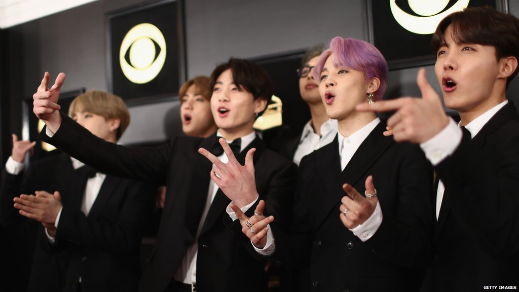 "test ツイッターメディア - ""Seoul ambassadors, nation's sons, Korean pride.""   🤴🤴🤴🤴🤴🤴🤴  This is how #BTS paid tribute to South Korea at the Grammys. https://t.co/InAgzOdVFG #TearItUpBTS @BTS_twt https://t.co/9buChQLV7c"