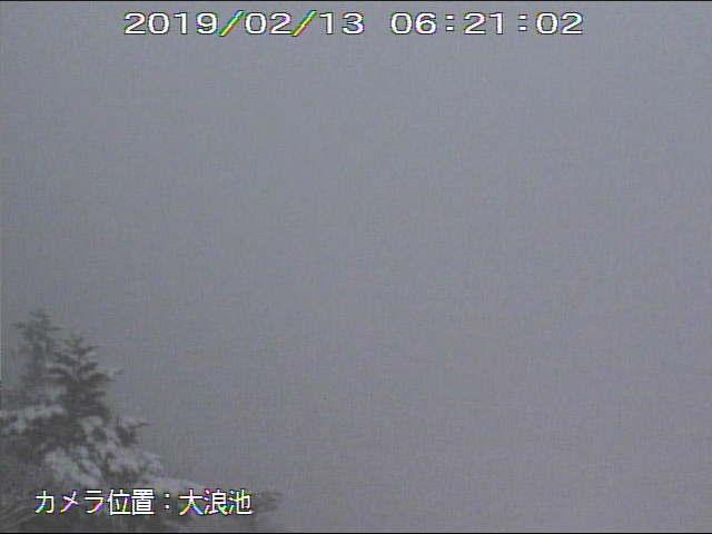 test ツイッターメディア - 新燃岳も雪らしい。 https://t.co/MIjVjh9u2w