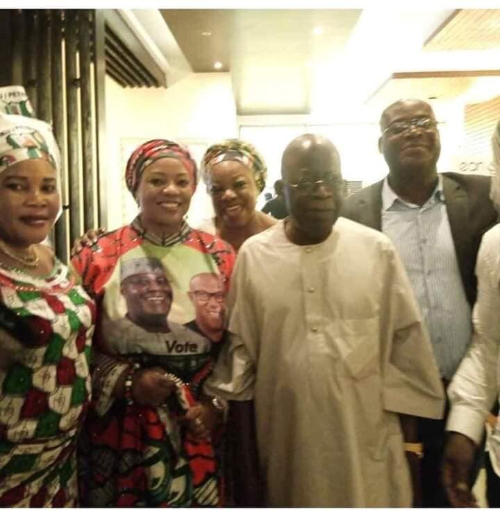 DzPOx XWwAAaQGx - 3 Days To Election: Tinubu Spotted With PDP Members(Photos)