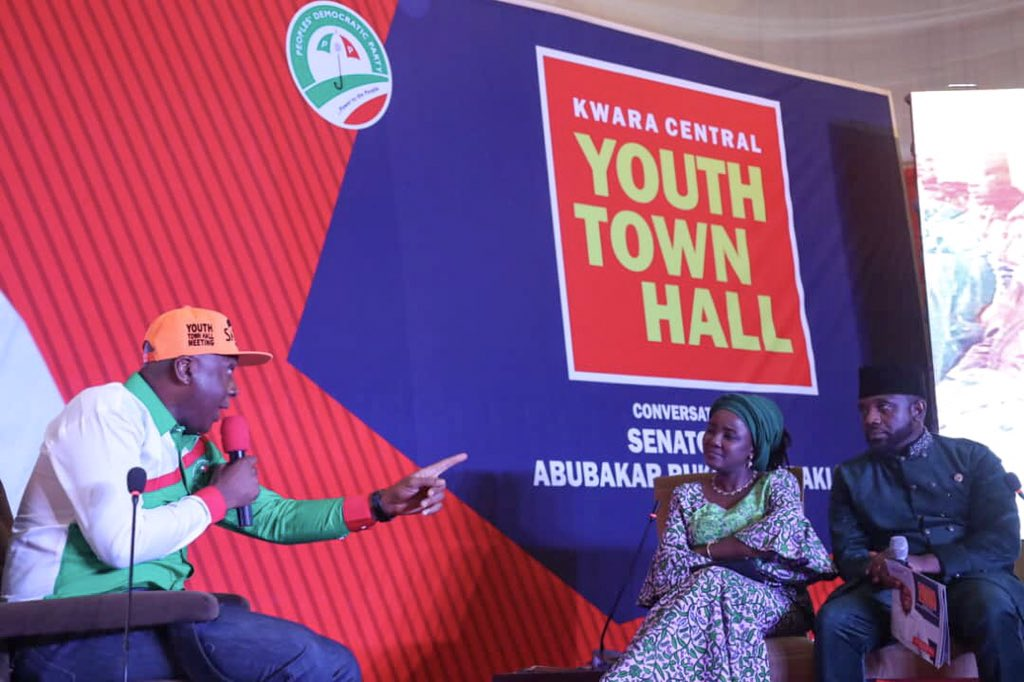DzX5rDZW0AAaMRA - Kwara Central: Saraki Shares What He Told Electorates From His Constituency