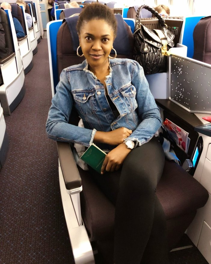 DzeEZeEWoAEqIE3 - Nollywood Actress, Omoni Oboli, Threatens INEC With Thunder If The Presidential Election Gets Postponed