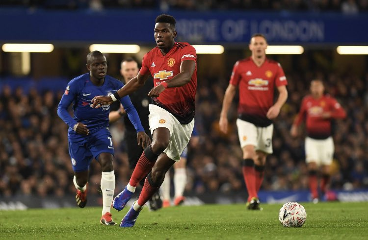 "DztrJ0BXgAAYZN  - ""Stop him and you stop United. Absolutely sensational tonight"" – Fans Hail Paul Pogba After His Impressive Display Put Chelsea To The Sword"