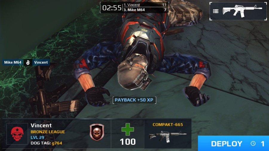 Modern Combat Blackout nintendo switch review