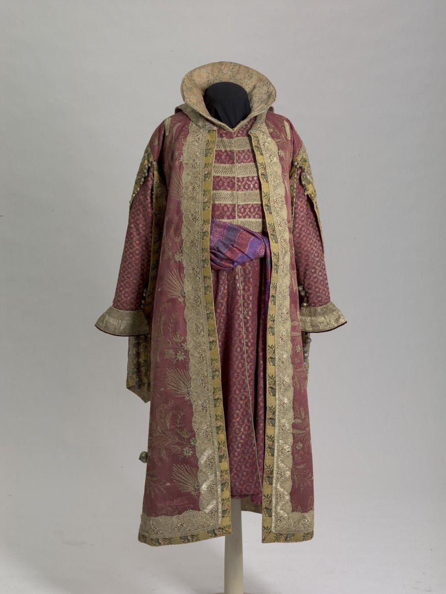 Fancy Dress of Count Alexey Alexandrovich Bobrinsky (Boyar's Dress of the 17th century) - Hermitage Museum