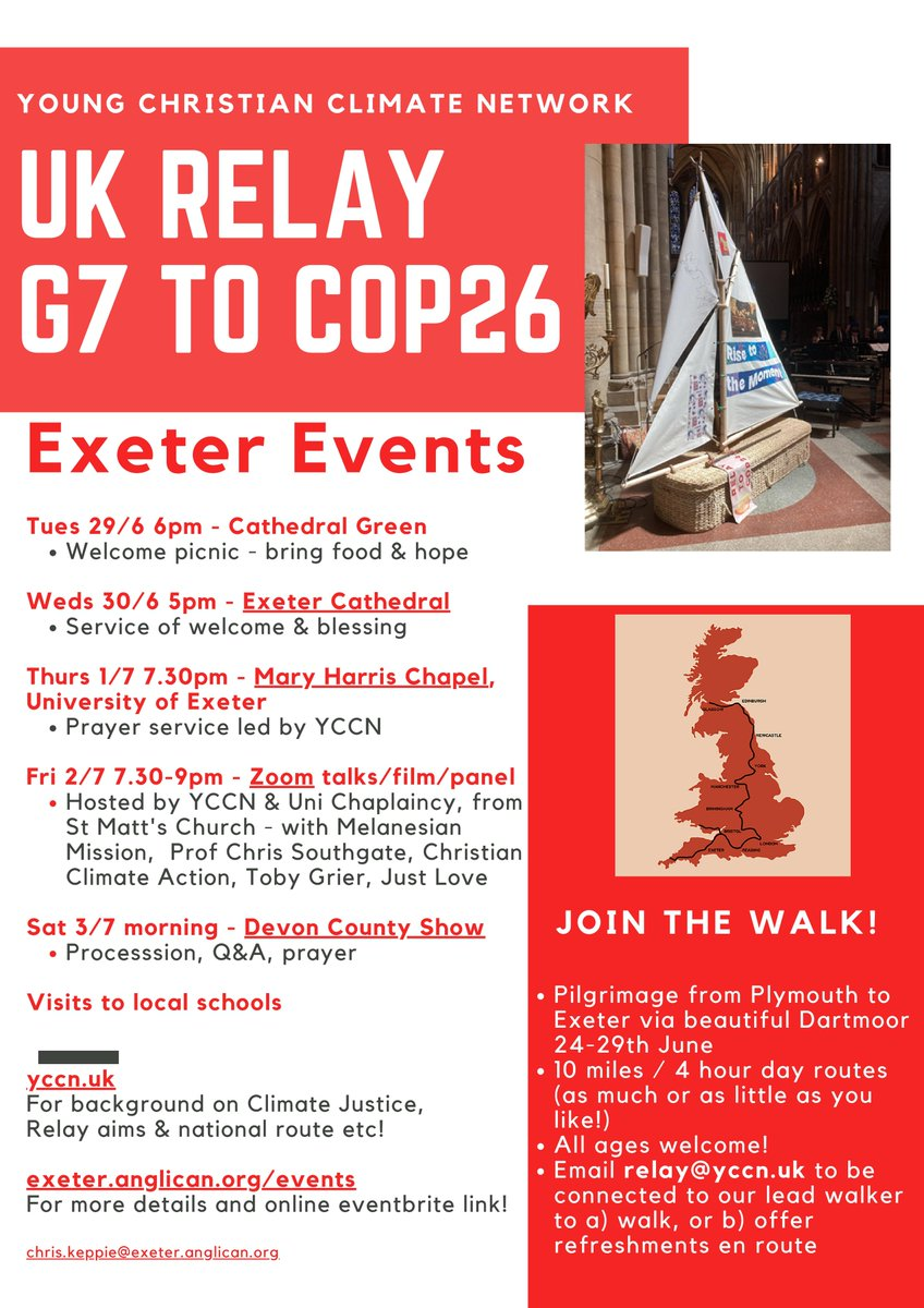 Huge thanks to @chriskeppie1 and @chrismanktelow3 our Exeter double act! A tremendous amount of work has gone into our Exeter Residency! Thanks also…