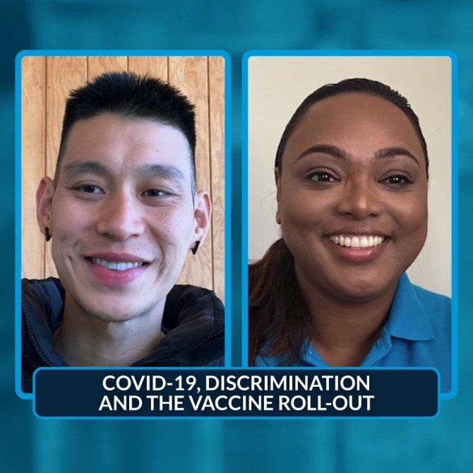 Jeremy Lin, basketball superstar and UNICEF supporter, talks to Dr. Frances in Fiji about COVID-19, discrimination and the vaccine roll-out.