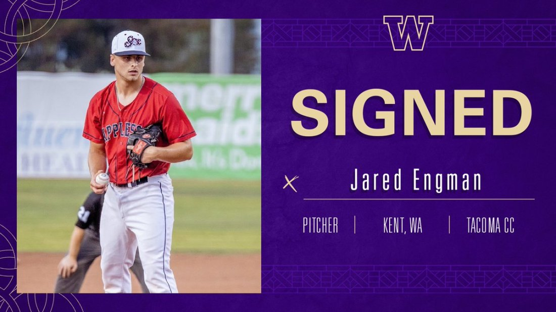 test Twitter Media - 🚨 New Dawg Alert 🚨   We're excited to announce the addition of Jared Engman to the Washington baseball family!  Jared is a big-time, local product out of Kent and Tacoma CC, who is playing his summer ball with the @AppleSox  Welcome, @jared1engman!  #DaWgStrong /// #GoHuskies https://t.co/56Ondtte4o