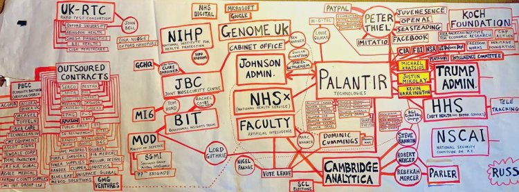 @HTLGIFestival @kncukier @RogerHighfield @NoortjeMarres @LukeRobertMason It's great that the dangers of #Palantir  - founded by right-wing billionaire Peter Thiel - gaining access to global population-wide health data, particularly genomic data, were discussed at #HTLGI festival today👇  #GenomeUK was quietly launched in the UK exactly a year ago https://t.co/9LJGxJkSI0