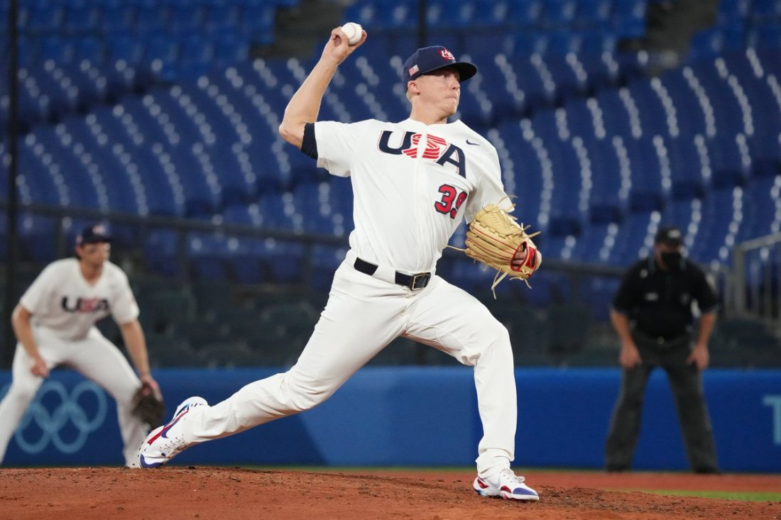 test Twitter Media - Getting it done in Tokyo. @Scooter_McGough fans 2 of the 3 batters he faced in a 4-2 win over Korea. McGough retired the side in the sixth. #GoDucks #OlympicDucks #ForGlory https://t.co/rWOA8pXDR2
